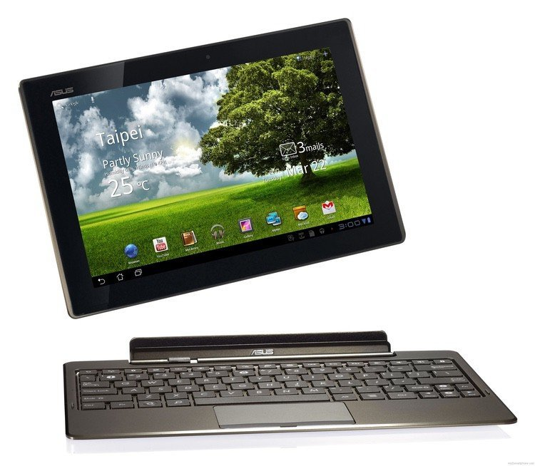 Test: Eee Pad Transformer Tablet from Asus