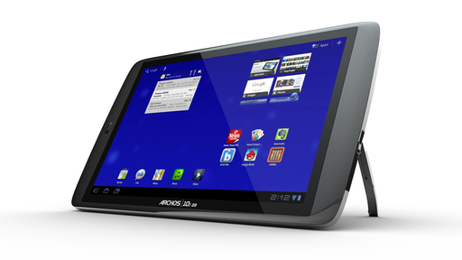 im test 10 zoll tablet archos 101 g9 android user. Black Bedroom Furniture Sets. Home Design Ideas