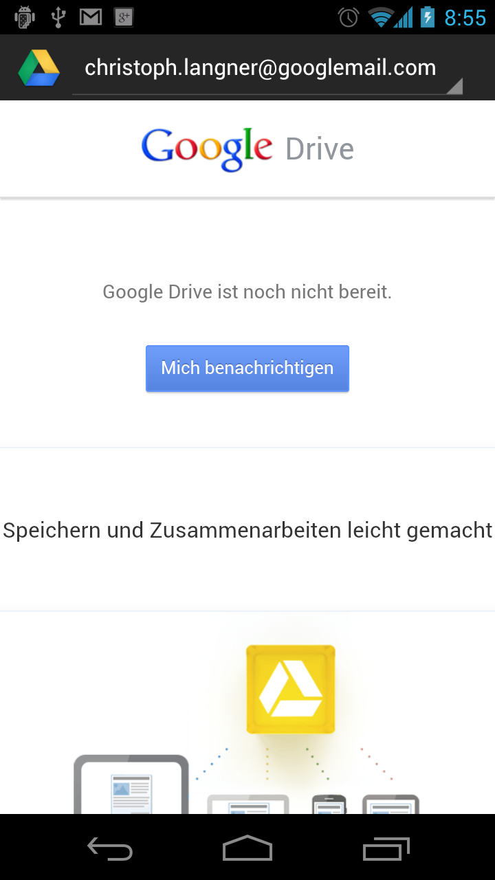 how to change user on google drive