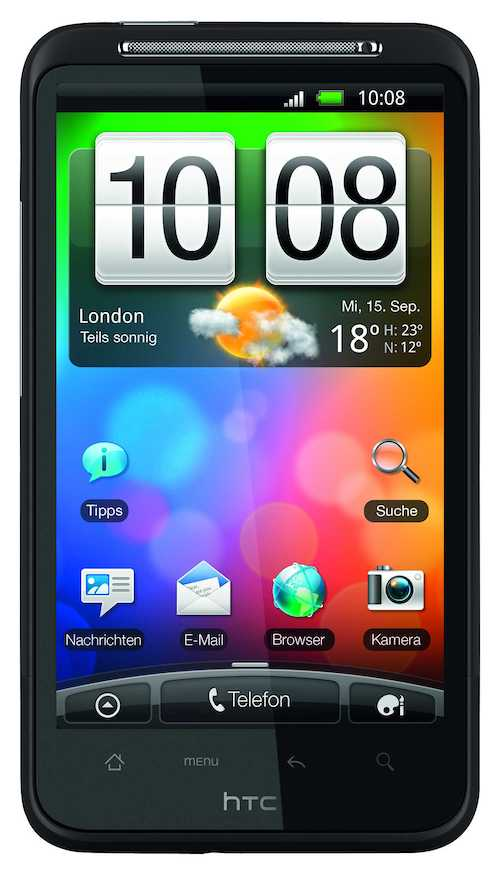 Прошивка HTC Desire A8181 Android 4 - YouTube