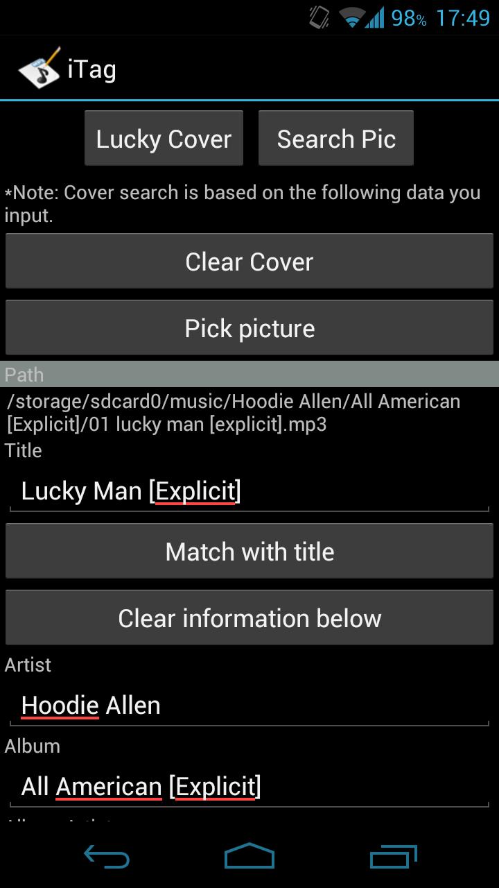 musik taggen automatisch