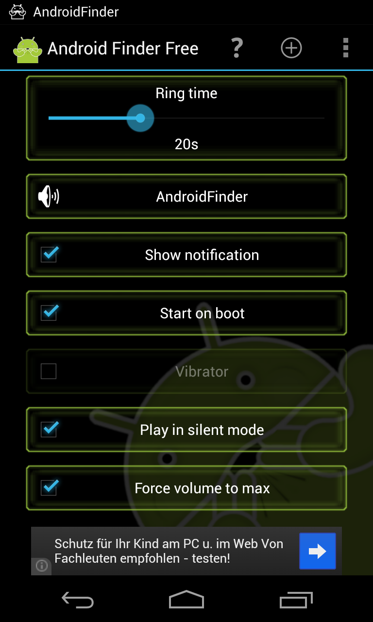 handy finden android