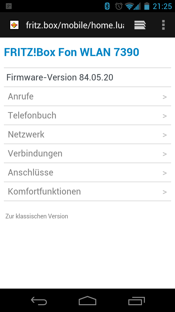 Android und die FRITZ!Box | Android User
