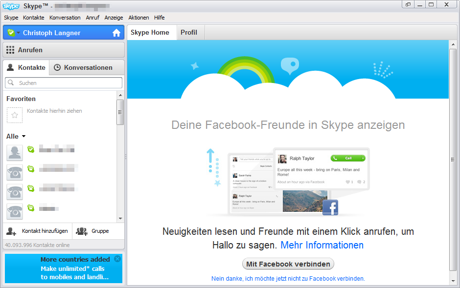 Videoanrufe mit Skype | Android User