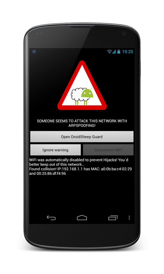 Droidsheep Android Handy - zinep ch