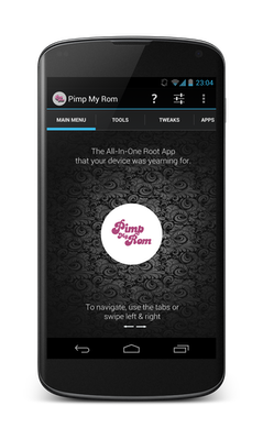 Pimp my rom die all in one root app android user for Minimalistisches smartphone
