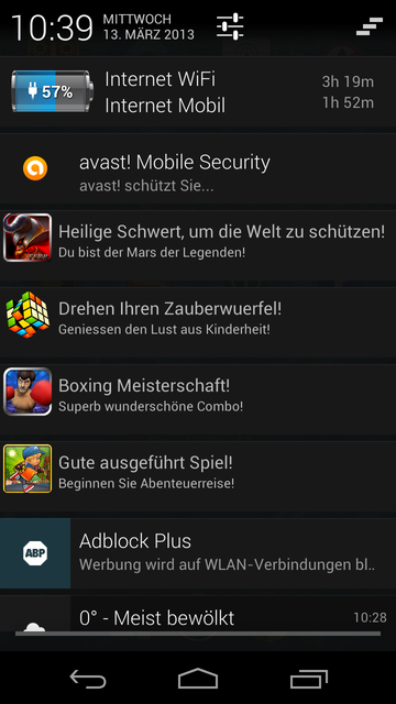 Android Nervige Werbung