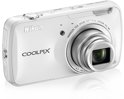 Nikon COOLPIX S800c mit Android-System