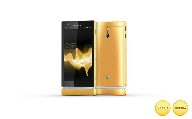 Sony taucht Xperia P in Gold