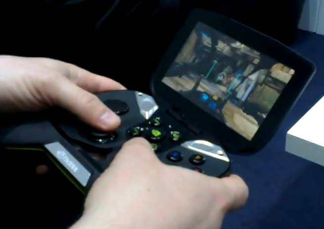 MWC 2013: Android User Hands-On Nvidia Project Shield