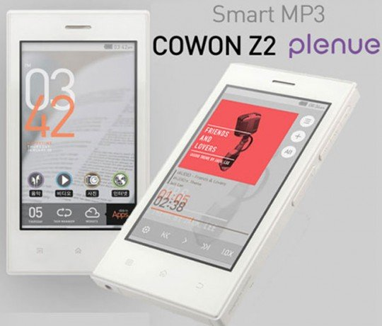 Cowon Z2 Plenue: Media-Player auf Android-Basis