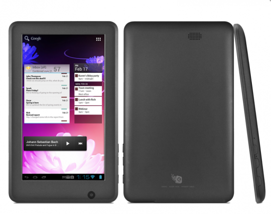 Ematic eGlide Steal: 7 Zoll-Tablet mit ICS