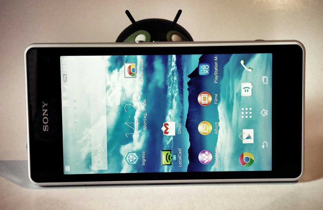 Sony Xperia Z1 Compact im Android-User-Test