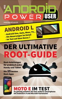 Der ultimative Root-Guide – Android Power User 02 ab sofort im Play Store!