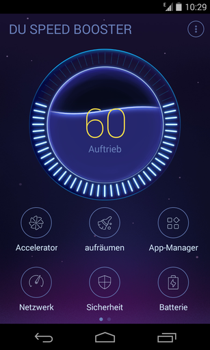 Du Speed Booster Beschleunigt Android Smartphones Android User