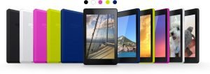 The new Amazon tablets are available in different colors image. amazon.com