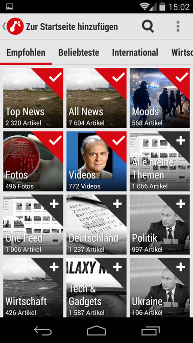 how to delete news republic android