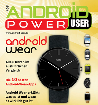 Android Power User 03 ab sofort bei Google Play
