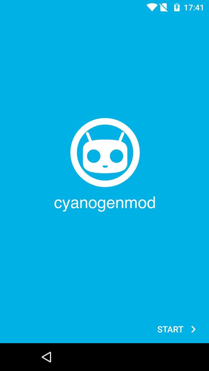 CyanogenMod 12 mit Setup-Wizzard und neuer Boot-Animation
