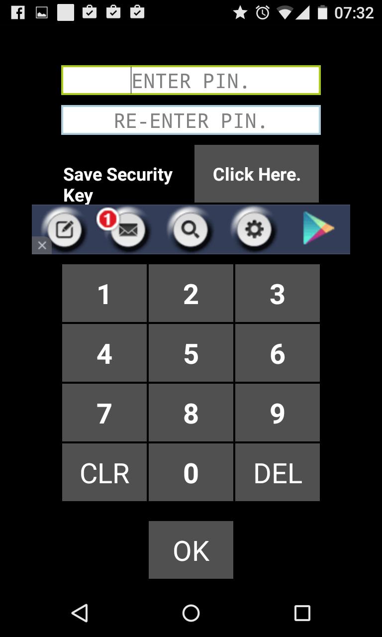 app lock passwort vergessen