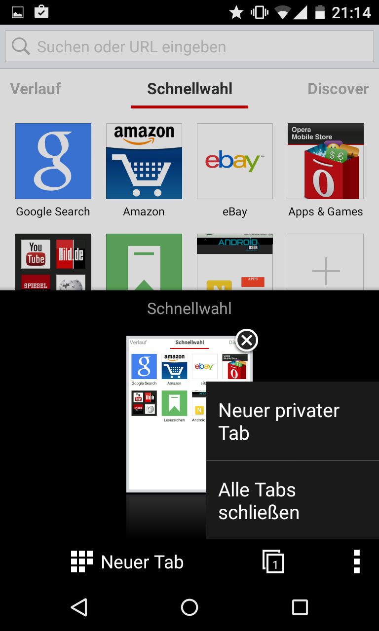 beste browser app android