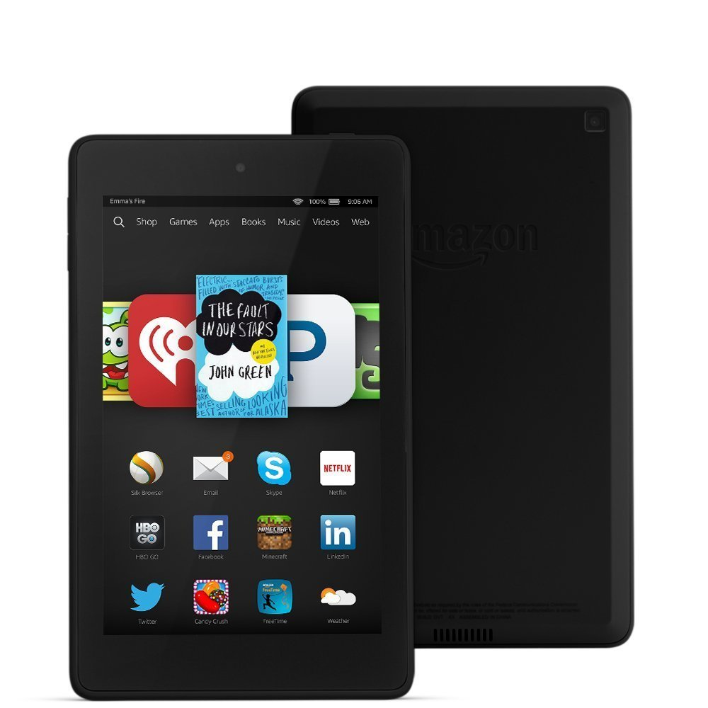 Amazon Kindle Fire HD 6 e 7