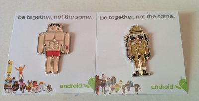 Egal ob Sumo-Ringer am Strand oder Android-Columbo auf Safari: Diese zwei Android-PINs sind einfach cool ;-)