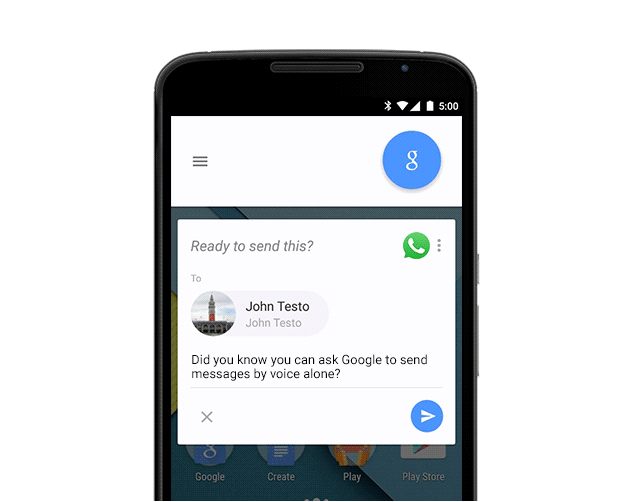 google_now_spracheingabe_messenger_1