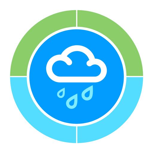 RainToday zeigt dir in Echtzeit an, welche Wolke als nächste kübelt
