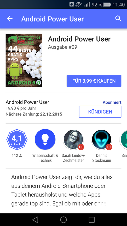 apps ab 19 android