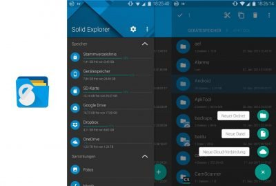 Ein Dateimanager mit Material Design: Der Solid Explorer