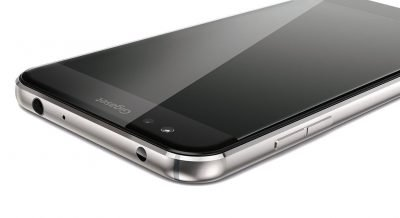 Designed by Gigaset AG in Germany, Made in China: Das ME Pro erweitert die junge Gigaset-Smartphone-Familie.