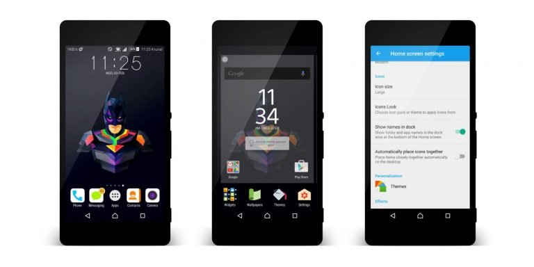 Sony Xperia Marshmallow Concept Launcher erfolgreich portiert