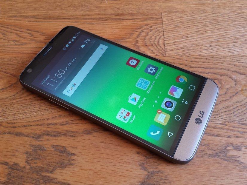 6ea8d1d5b4f10 Im Test  LG G5 – Das innovative Smartphone mit den zwei Kameras und den LG  Friends