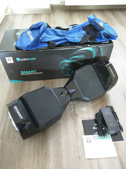 Im Test Das Alienboard Hoverboard Batwings Android User