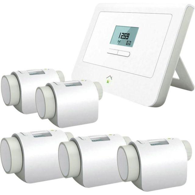 Im Test Smart Home Zentrale Und Heizkorperthermostate Von Innogy