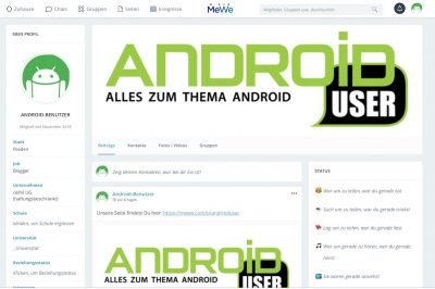 MeWe 3 | Android-User.de