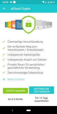 pCloud 4 | Android-User.de