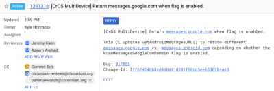 Android Messages | Android-User.de