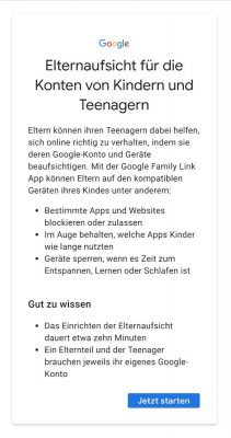 Google Family Link 1 Web | Android-User.de