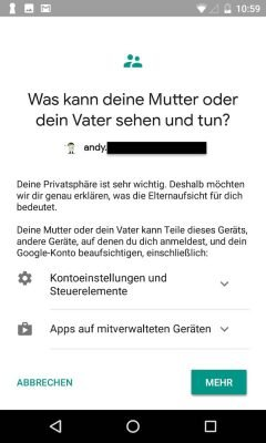Google Family Link 14 Kind | Android-User.de