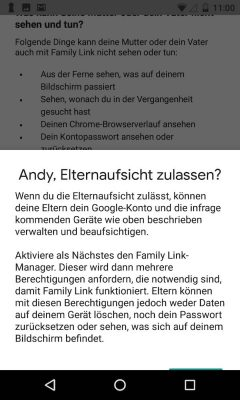 Google Family Link 15 Kind | Android-User.de