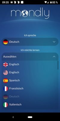 Sprachen Mondly Languages 1 | Android-User.de
