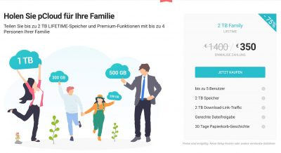 pCloud Family | Android-User.de