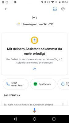 Google Assistant alt 1 | Android-User.de