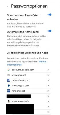 Passwort Manager 2 | Android-User.de