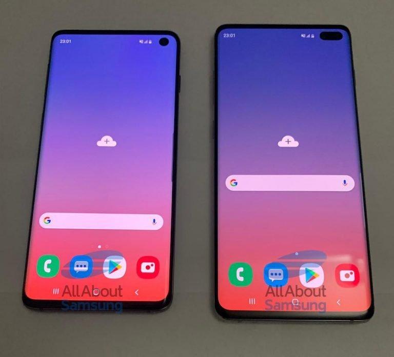 Leak zeigt Bilder der neuen Samsung Flaggschiffe Galaxy S10 und S10+
