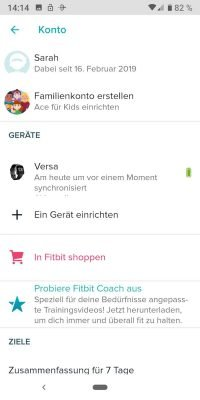 Fitbit 7 | Android-User.de