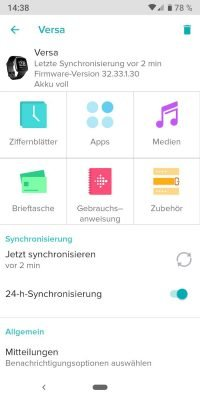 Fitbit 8 | Android-User.de
