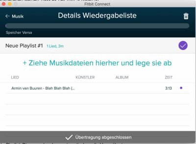 Fitbit Musik 2 | Android-User.de